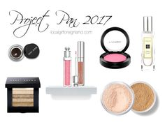 """""""Project Pan 2017"""" by joycebelfort on Polyvore featuring beauty, Bobbi Brown Cosmetics, MAC Cosmetics, Christian Dior, Bare Escentuals and Jo Malone"""
