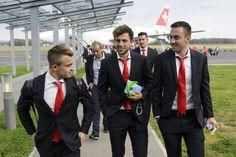 SVN CHE, SLOWENIEN SCHWEIZ, FUSSBALL, QUALIFIKATION, EUROPAMEISTERSCHAFTEN, TEAM SCHWEIZ, UEFA EURO 2016, EM2016, FUSSBALL EM,