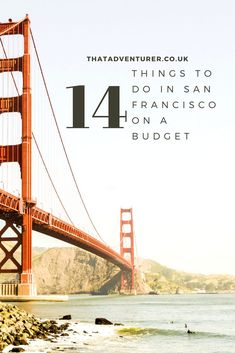 14 of the best things to do in San Francisco on a budget | That Adventurer San Francisco California, San Francisco Vacation, California Love, San Francisco Girls Trip, California Travel, Weekend In San Francisco, Danville California, San Francisco Travel Guide, Living In San Francisco