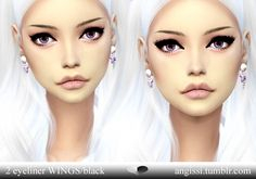 2 wings eyeliners at Angissi • Sims 4 Updates