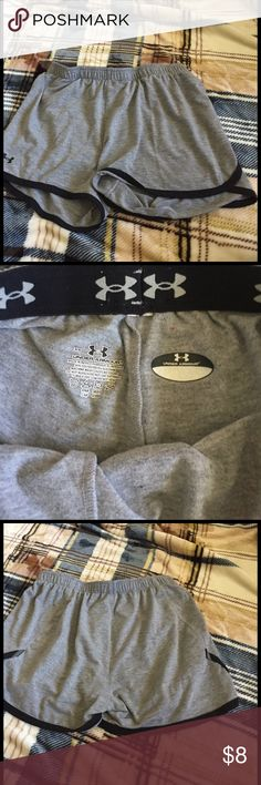 Under armour shorts Gently worn-workout or every day shorts-size xs-gray and black Under Armour Other