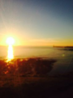 King Edwards bay sunrise 7 .03 am Tuesday 11 th march 2014