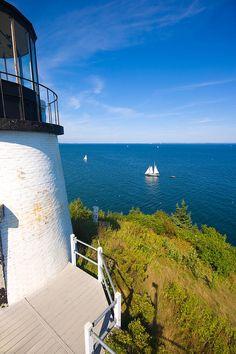 ✮ Owls Head Maine Lighthouse - Maine