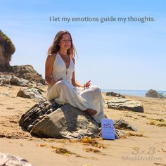 I let my emotions guide my thoughts.