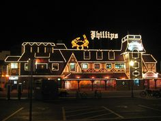 Phillip's Seafood, Ocean City Maryland.