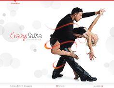Crazy Salsa Flash Templates by Delta Flash Templates, Salsa, Psd, Something About You, Dance Studio, Ballroom Dance, Web Design Inspiration, Website Template, Your Design