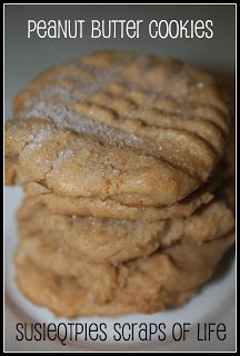 SusieQTpies Cafe: Nutella Peanut Butter Cookie Recipe
