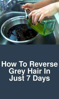 How to reverse grey hair in just 7 days Today we will show you, how can you reverse premature grey hair in just 7 days of time. For this you will need: 1 chopped onion 2 amla chopped Coconut oil First Stop Grey Hair, Prevent Grey Hair, Grey Hair Dye, Natural Beauty Tips, Natural Hair Styles, Grey Hair Home Remedies, Premature Grey Hair, Colored Hair Tips, Hair Growth Tips
