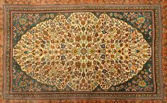 Turkey Çan showed us a small silk carpet—just 18 inches by 24 inches—that had a stunning 1,200 knots per square inch and sold for an equally stunning $52,000.