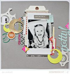 Made with @Studio Calico april kit and add-ons, Spencer's!