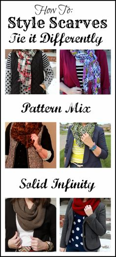 How To: Style and Tie Scarves