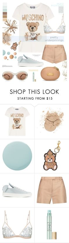 """The Prettiest Underpinnings"" by tinkabella222 ❤ liked on Polyvore featuring Moschino, CC, Smith & Cult, Minna Parikka, H&M, 3.1 Phillip Lim, La Perla and Benefit"