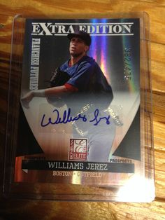 2011 Donruss Elite Autograph  #18 Williams Jerez RC #382/475