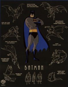 '90s style Batman! There's also a Harley Quinn one buried deep in the board too.