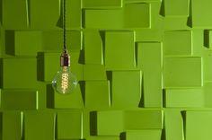 Rubik 3D Board - 3D Wall Panels - Nettl Birmingham Office