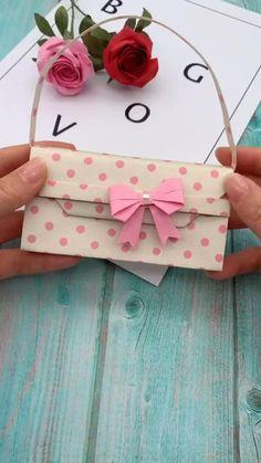 Diy Crafts Hacks, Diy Crafts For Gifts, Diy Arts And Crafts, Creative Crafts, Crafts For Kids, Cool Paper Crafts, Paper Crafts Origami, Instruções Origami, Oragami