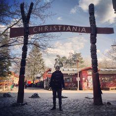 Me in Christiania