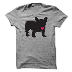 Frenchie Love T-Shirt! Get YOURS Here!.... http://www.sunfrogshirts.com/Frenchie-Love.html?3686 $24.99   #dogheart
