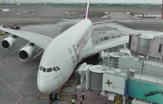 World's First Commercial Airbus A380 Flight to Taiwan by Emirates | Havayolu 101
