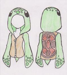 Turtle hoodie design by L-Storyteller.deviantart.com on @deviantART