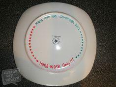 DIY Cookies for Santa Plate - Mama Say What?!