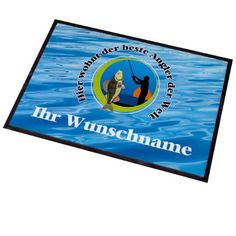 http://ift.tt/1IlHxY8 Cera & Toys Waschbare Fußmatte mit Namen  Angler 50 x 70 cm für Außen- und Innenbereiche @cheapiike%#