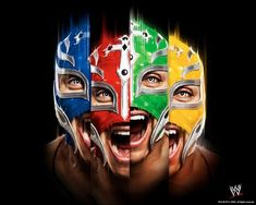 Rey Mysterio 619, Jerry The King Lawler, Roman Reigns Dean Ambrose, Tyson Kidd, Shawn Michaels, Jeff Hardy, Ric Flair, Wwe Wallpapers, Booker T