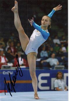 4x6 Ekaterina Kramarenko (Russia) autograph