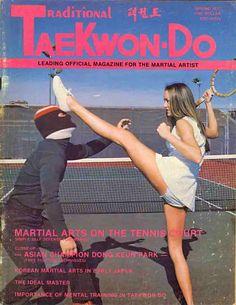 "Traditional Taekwondo magazine: ""Martial arts on the tennis court"""