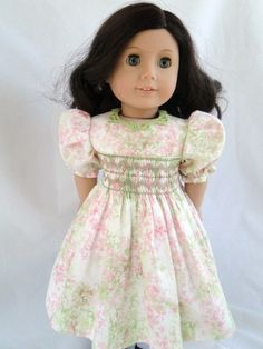 Love the hand smocking on this dress