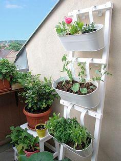 DIY tutorial: Een bloemenladder bouwen via DaWanda.com