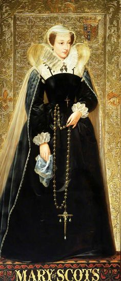 Mary, Queen of Scots mother of James VI & I, oil on panel by Richard Burchett part of his series of portraits at the Palace of Westminster telling the Tudor story Tudor History, European History, British History, Asian History, Renaissance, Mary Of Guise, Isabel I, Elisabeth I, House Of Stuart