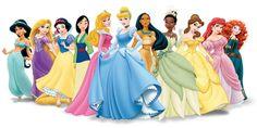 Centinaia di disegni delle principesse Disney da stampare e colorare