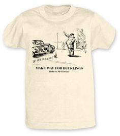 'Make Way for Ducklings' Adult T-shirt