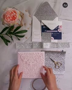 Gorgeous navy blue and blush pink floral watercolor wedding invitation EWI navy blue and blush pink floral watercolor DIY wedding invitations Wedding Invitation Video, Laser Cut Wedding Invitations, Watercolor Wedding Invitations, Diy Invitations, Floral Invitation, Bronze Wedding, Diy Wedding Video, Girly, Floral Watercolor