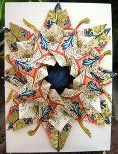 tea bag folding - something I need to try.  Looks cool!