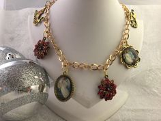 A personal favorite from my Etsy shop https://www.etsy.com/listing/248759157/christmas-charm-necklace