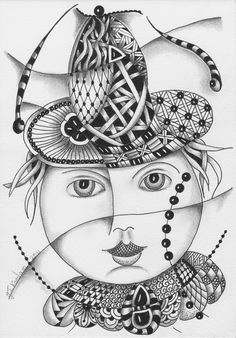 Tineke's Creations: Zentangle Hoofdzaken by Tineke Koedam