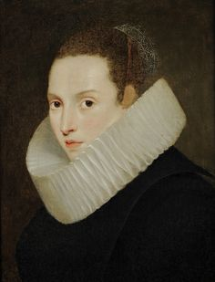Follower of Antoon van Dyck (Antwerp 1599-London 1641)Portrait of a LadyOil on panel (approximately) 50 x 40 cm