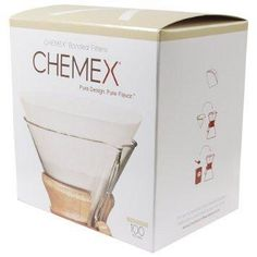 Chemex Bonded White Circular Coffee Filters 100 Filters with Free FOXGALLERY Coffee Guide ** To view further for this item, visit the image link. (This is an affiliate link) Chemex Coffee Maker, Coffee Cups, Coffee Shop, Coffee Guide, Appliance Sale, Appliance Parts, Coffee Accessories, Packaging, Coffee Machine