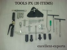 VESPA PX WORKSHOP TOOLS KIT ** 20 TOOLS ** SPECIAL TOOLS FOR LML VESPA PX NEW | eBay