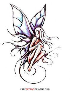 Fairy tattoo #tattoo design #tattoo patterns| http://wonderfultatoos.blogspot.com