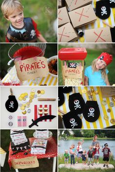Pirate party with the kids