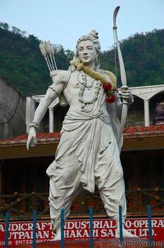 Statues With Veils Code: 1448961446 # Krishna Hindu, Krishna Statue, Hanuman, Archery, Shri Ram Photo, Rama Image, Wax Statue, Marvel Statues, Ram Photos