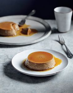 Coffee Creme Caramel, free recipe from Sweet by Alison Thompson, page 32.