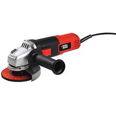 Black & Decker BDEG400 6-Amp Angle Grinder, 4-1/2-Inch    http://www.stupidprices.com/shop/tools/black-decker-bdeg400-6-amp-angle-grinder-4-12-inch/    [gallery]  The Black & Decker BDEG400 4-1/2″ 6 Amp Angle Grinder is perfect for sharpening, cutting, grinding, casting off rust and surface preparation. This grinder includes a metal gear case for durability and longer life. It offers a 3-position side care for that gives added comfort and keep an eye on to be used with more than a few…