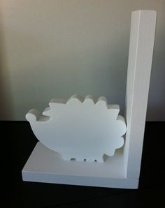 Hedgehog Bookend  Price is for one bookend by ProfessorFinley, $15.00