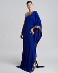 Cheap dress evening gowns, Buy Quality gown evening dress directly from China gown wedding dress Suppliers: Arabic Evening Dresses Long 2016 Royal Blue A Line One Shoulder Plus Size Chiffon Formla Evening Gowns Dress vestido de festa Royal Blue Evening Dress, Blue Evening Dresses, Royal Blue Dresses, Evening Gowns, Formal Dresses, Cheap Dresses, Plus Size Dresses India, Dress Plus Size, Beautiful Gowns