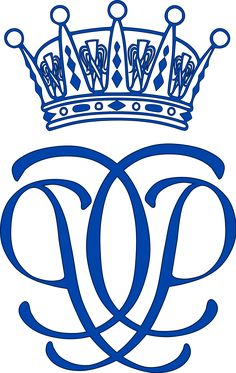 monogram królewski szwedzkiego księcia Värmland Karola Filipa