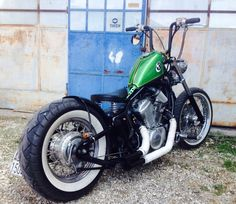 #bobber #old School #honda #shadow  Hard to believe this thing is a 600cc Honda Shadow.